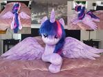 Cuddlesize Twilight sparkle - faux fur
