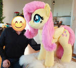 Life size Fluttershy standing version