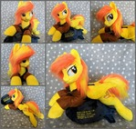 Plushie Spitfire with plushie Bomb