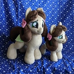 Plushie Yona the Pony