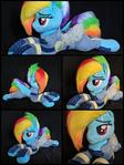 Plush Rainbow Dash Crystal War