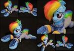 Plush Rainbow Dash Crystal War - Life Size