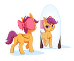 Scootaloo with Blooms Bow