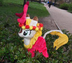 Plush Kirin Fall Flower