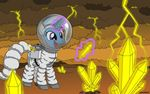 Astronaut Trixie Lulamoon on the Venus