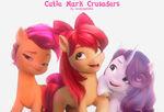 Cutie Mark Crusaders in 5 generation! ( fan made)