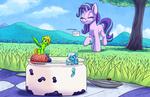 Yogurt Party - Commission