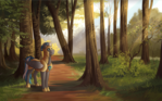 Forest Patrol By RoyvdhelArt