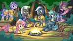 camp by mysticalpha