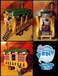 Lego Trixie's Wagon (Trixie Lulamoon - MLP FiM)