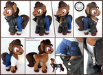 + Plush Commission: TrouserSnake +