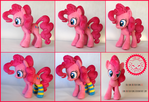 + Plush Commission 2 of 7: Pinkie Pie with socks +