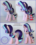 + Plush Commission 5 of 7: Starlight with socks +