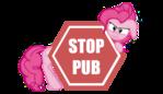 Stop Pub Pinkie Pie