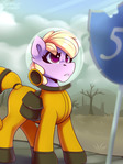 Pink eyes (Fallout Equestria)