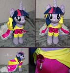 Twilight Sparkle plush: coronation dress