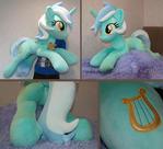 Lyra life-size plushie