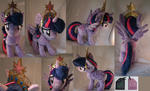 Twilight Sparkle with Elements of Harmony crown