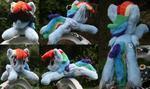 Shoulder Plushie: Rainbow Dash (Open Eyes)