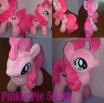pinkie pie open commission 50 cm