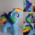rainbow dash plush 50 cm for sale
