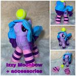 plush of izzy moonbow of (12 inches