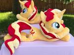 Sunset Shimmer Twin Plushies