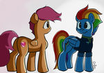 Older Dash and Scootaloo