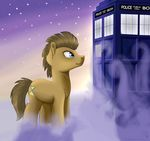 Doctor Whooves and the TARDIS