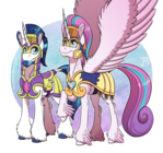 MLP:YL - Flurry's Shiny Armor