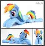 Rainbow Dash (Lie down)