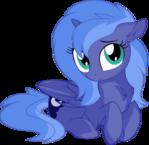 Princess Luna Vector 03 - Looking at You