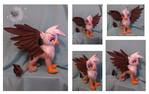 Custom plush Gilda the Griffon