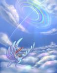 Rainbow-dash Sonic Rainboom