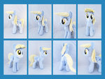 14 Inch Derpy Hooves Plush Collage