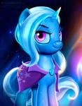 Trixie stars portrait