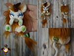 Autumn Blaze angry kirin keychain trinket for sale