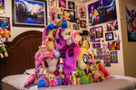Fluttershy Collection Plushie Pile!