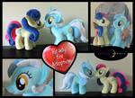 Plush Lyra Heartstrings and BonBon Pair!