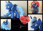 Handmade Princess Luna Plush