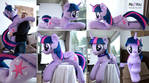 Life sized Twilight Sparkle plush