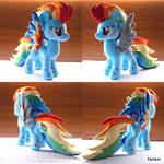 Mlp Power(War) Rainbow Dash plush