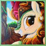 Autum Blaze 2 Color Sceem Painting