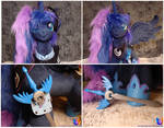 Princess Luna collage