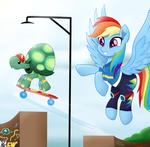 Rainbow Dash God job tank