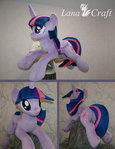 Twilight Sparkle BIG plush - MLP handmade plushie