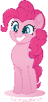 Pinkie Pie vector moviestyle
