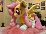 Flutterbat Plush With New Socks