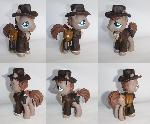 Indiana Pones Custom Indiana Jones Pony