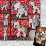 MLP 23 inch Marble Pie Plushie